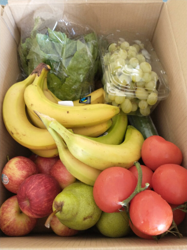 food donation example